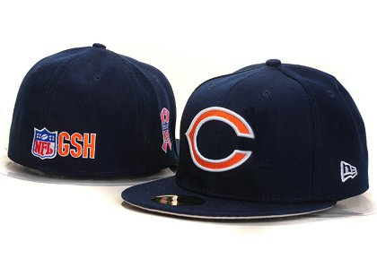 Chicago Bears New Type Fitted Hat YS 5t09